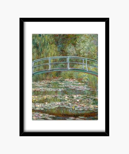 Cuadro El jardín japonés
