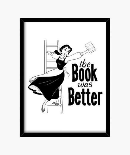 Cuadro el libro fue mejor