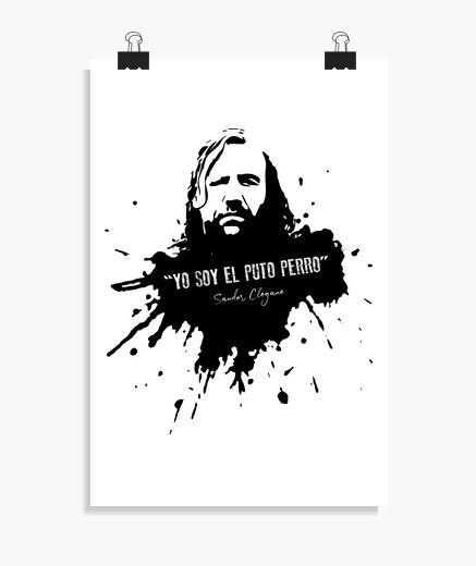 Póster El Puto Perro - Sandor Clegane (Poster)
