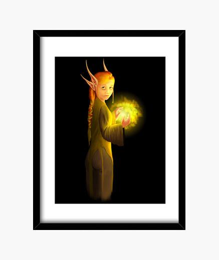 Cuadro Elfa Roja
