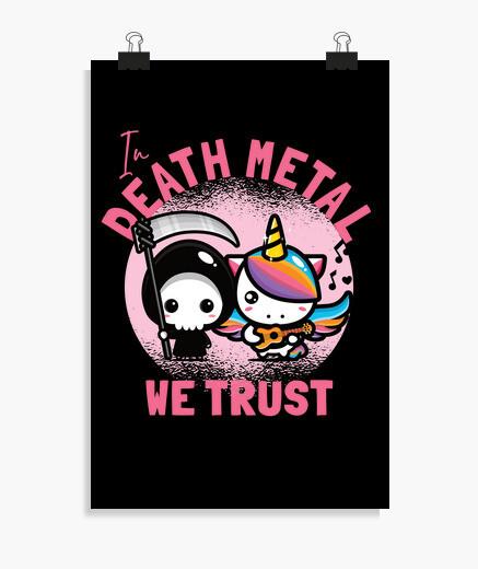 Póster en el death metal confiamos
