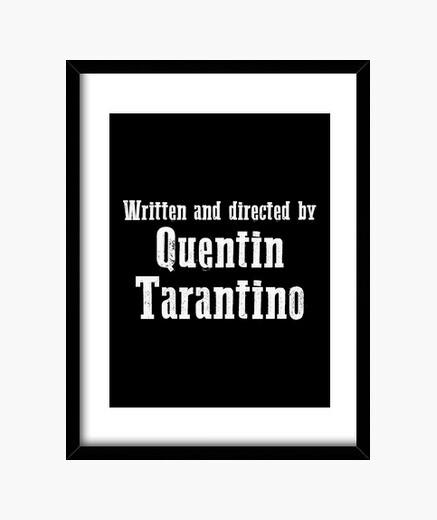 Cuadro escrito y dirigido por quentin tarantin