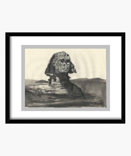 Cuadro Esfinge de Gizah.