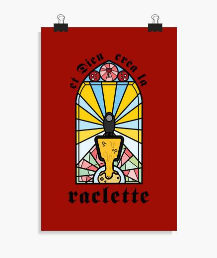 Poster Et dieu créa la raclette