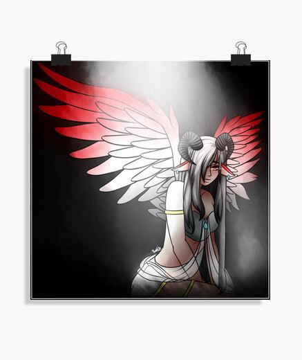 Póster Fallen Angel