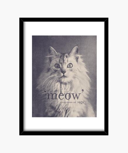 Cuadro Famous quote-cat