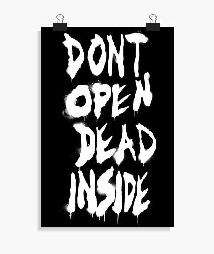 Poster fan des morts-vivants