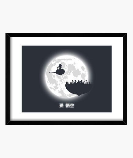 Quadro fate attenzione della luna piena! (v2)