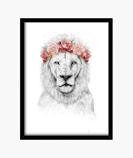 Cuadro Festival lion