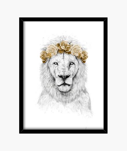 Cadre festival lion ii
