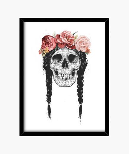 Cuadro Festival skull
