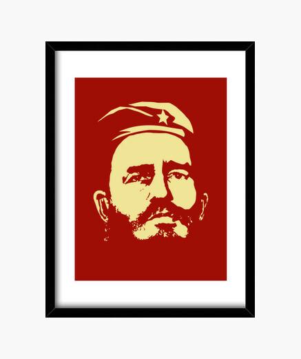 Cuadro Fidel Castro retrato