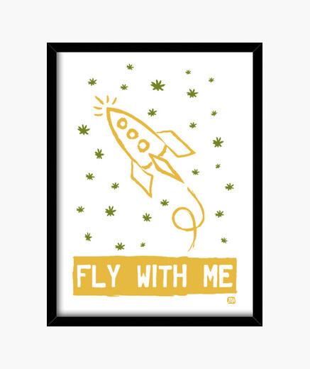 Bild fliege mit mir