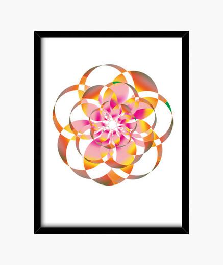 Cuadro flower 2