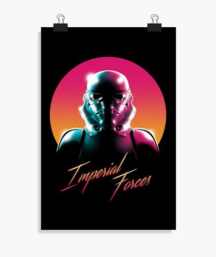 Poster forces impériales