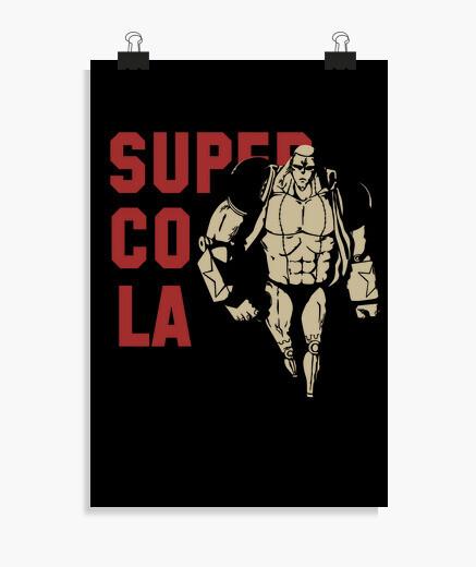 Poster franky super cola