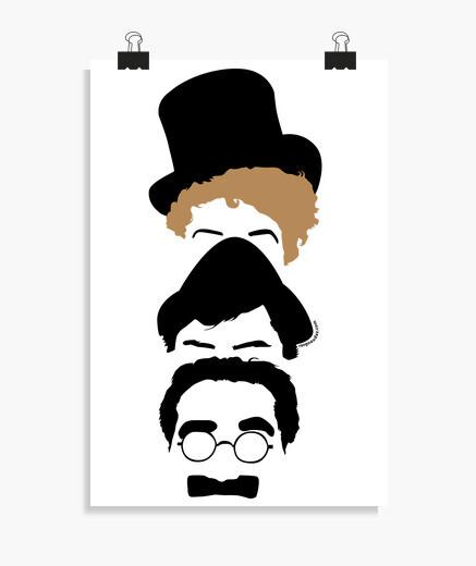 Poster fratelli Marx