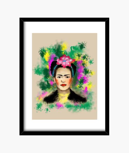 Cuadro Frida Kahlo
