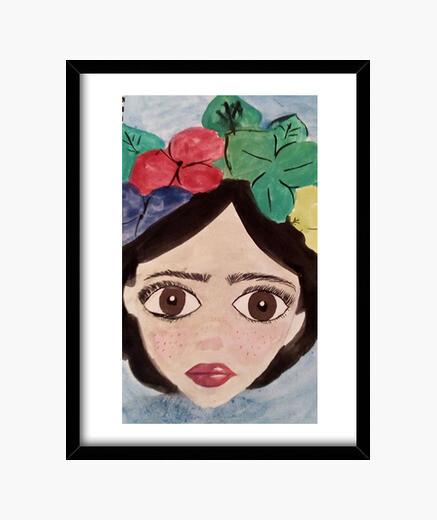 Cuadro Frida Kahlo (30 x 40 cm)