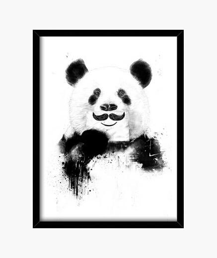 Cuadro Funny panda