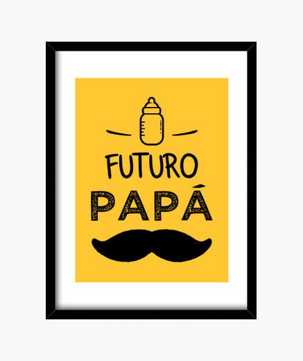 Quadro futuro papà