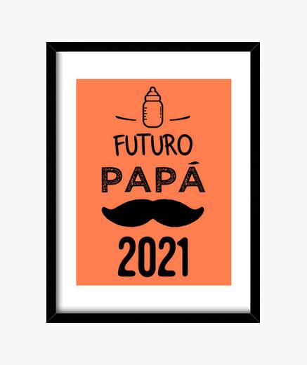Quadro futuro papà 2021