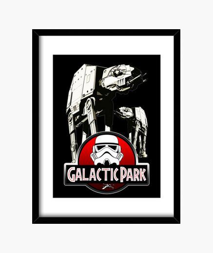 Cuadro galactic park