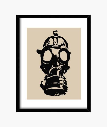 Cuadro Gas mask