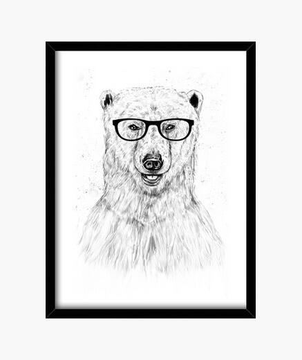 Cuadro Geek bear
