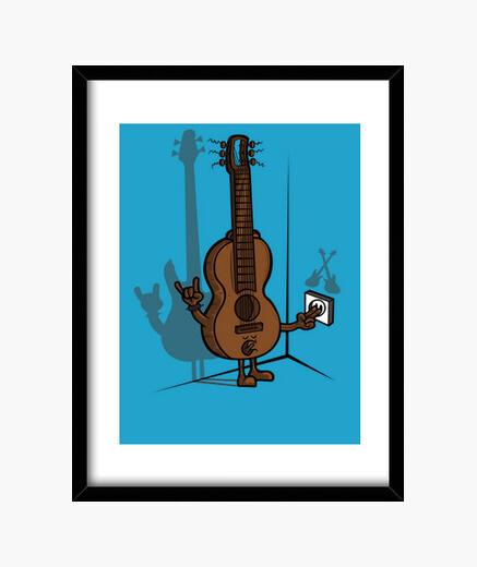 Cuadro Guitarra eléctrica