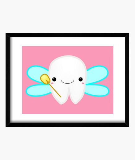 Quadro hadita di los denti