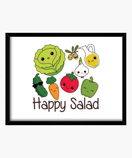Cuadro Happy Salad