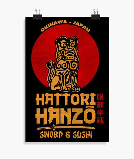 Póster Hattori Hanzo
