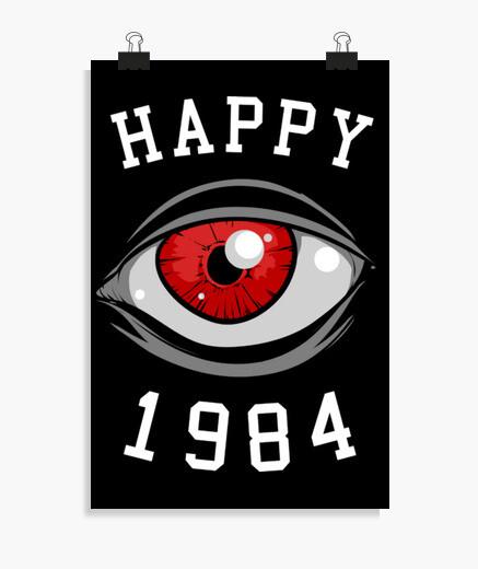 Poster heureux 1984