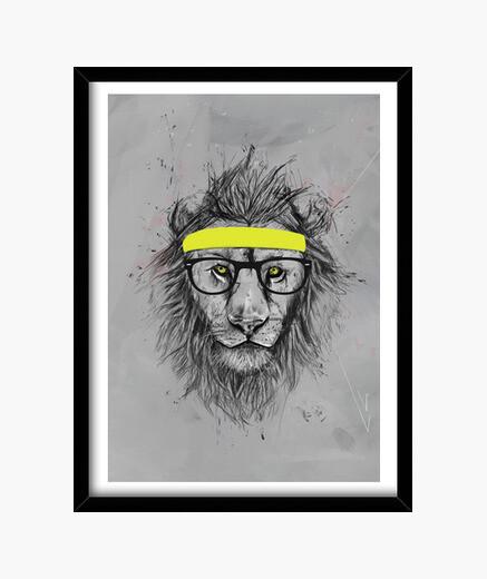 Bild hipster lionbild