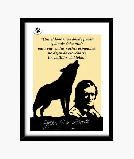 Cuadro Homenaje a Félix Rodríguez de la Fuente
