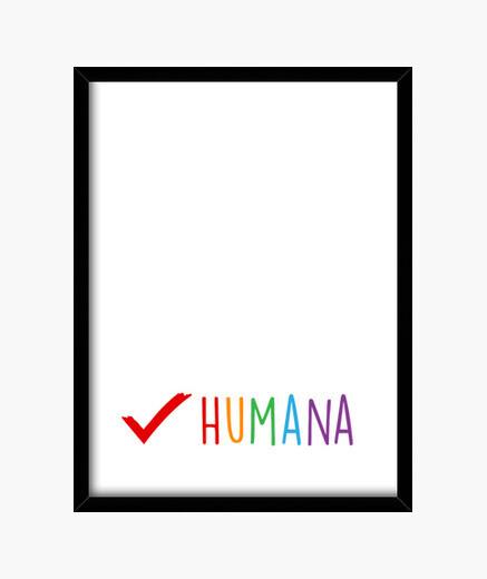 Cuadro Humana