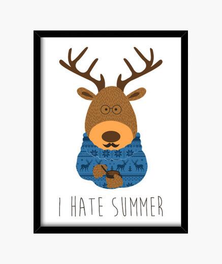 Cuadro I hate summer
