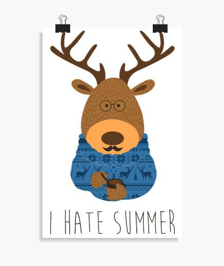 Póster I hate summer