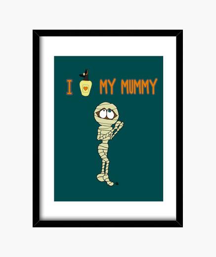 Cuadro I love my mummy