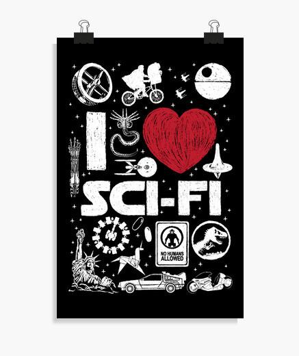 Póster I love SciFi