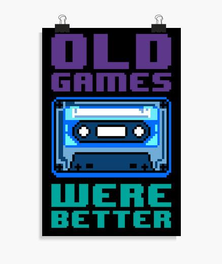 Poster i vecchi games erano better ( cassette