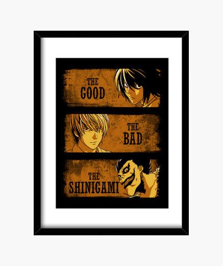 Quadro il buono, il brutto e il shinigami