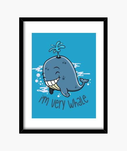 Quadro im molto balena