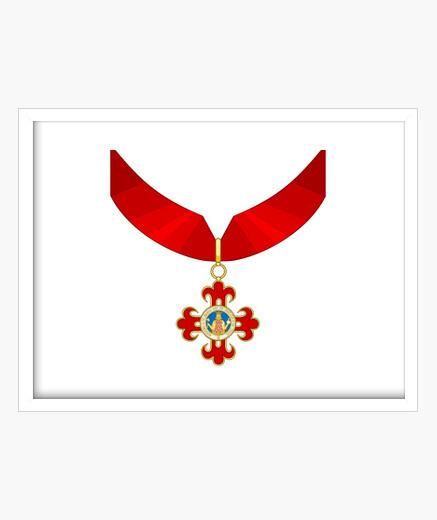 Cuadro Insignia, Orden de Alfonso X el Sabio