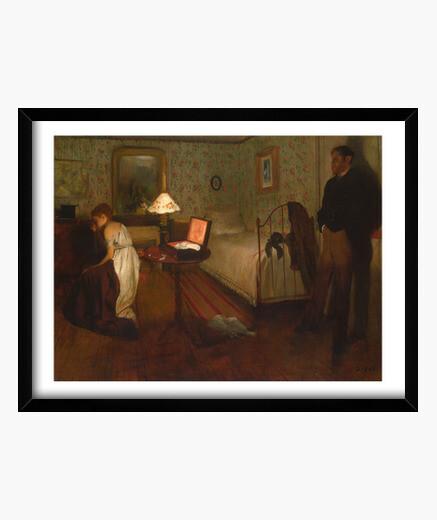 Interior (1868-1869) framed print