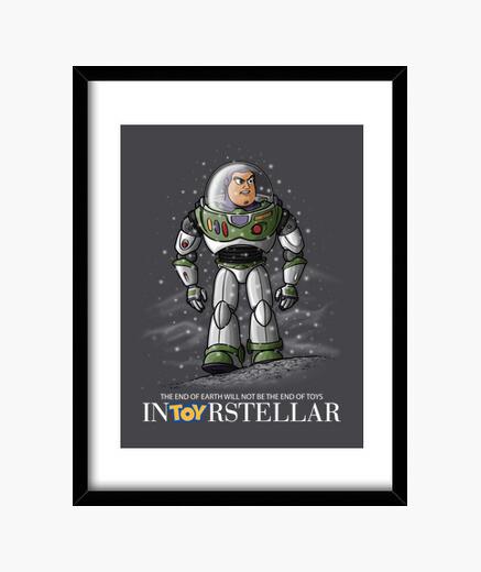 Cuadro InToyRstellar marco vertical 3:4 (30 x 40 cm)
