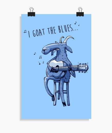 Poster io capisco il blues