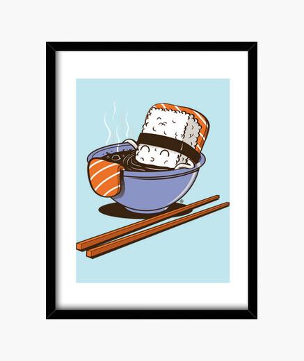 Jacuzzi food framed print