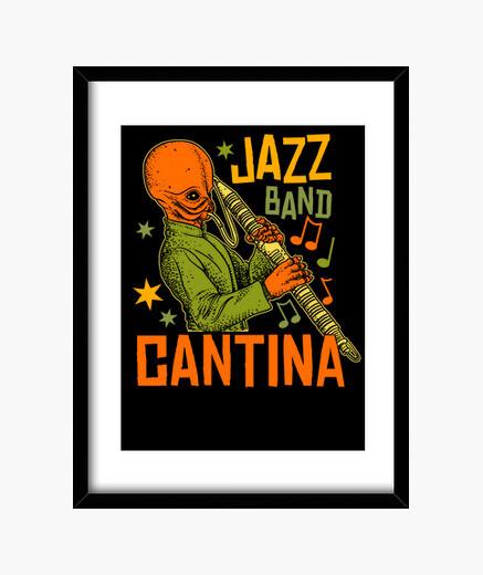 Quadro jazz cantina band